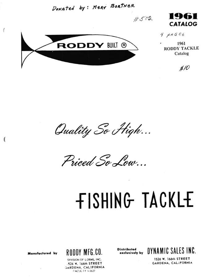 Roddy Mfg. Co.