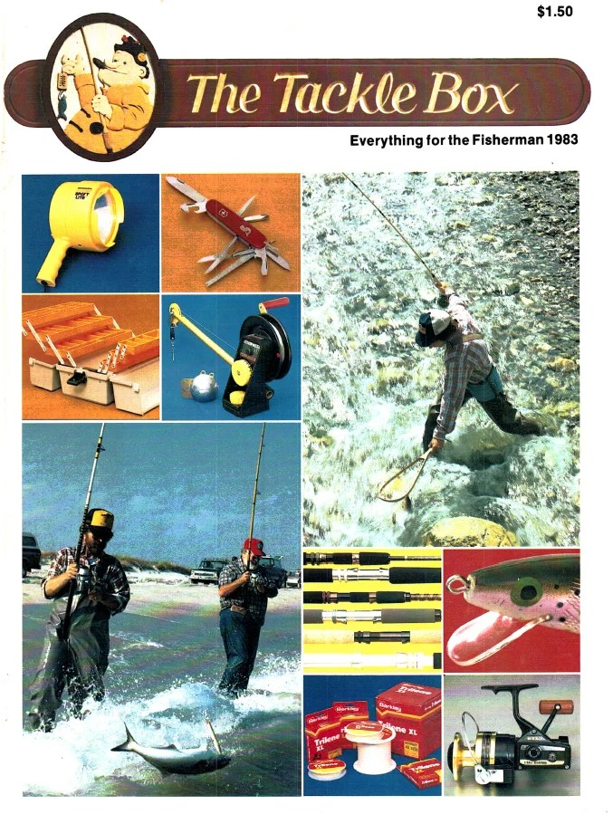 The Tackle Box Catalogs
