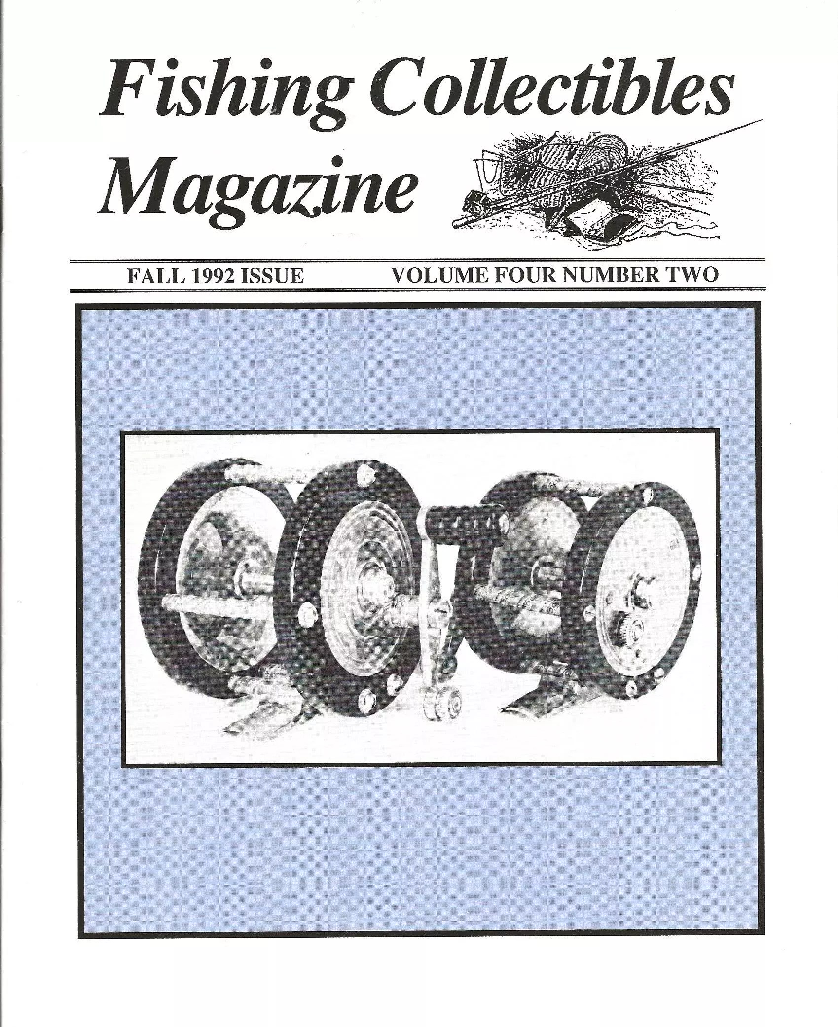 Fishing Collectibles Magazine Cover