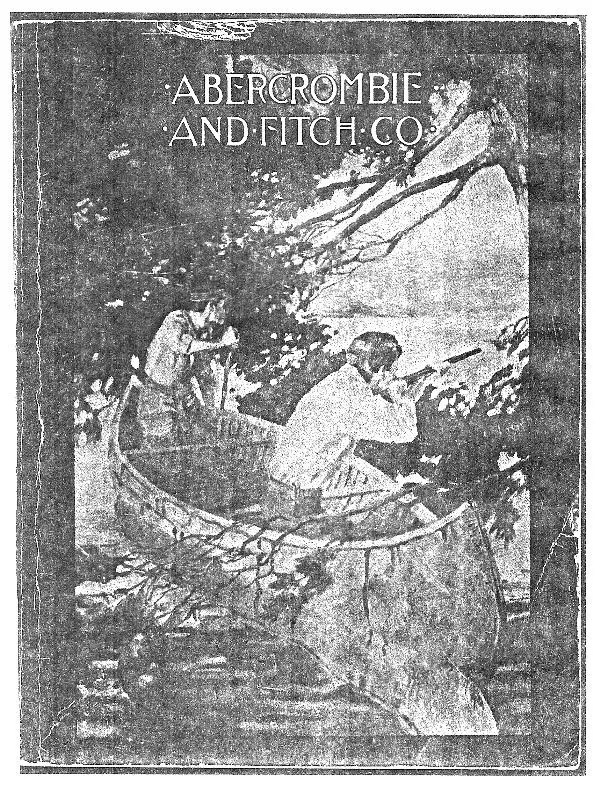 A&F 1910 Catalog Cover