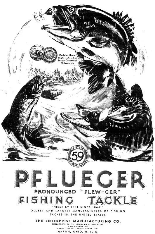 Pflueger1939 Trade Catalog Cover