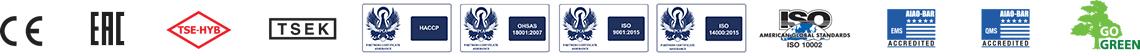 Orca Refrigeraiton Unit Certificate