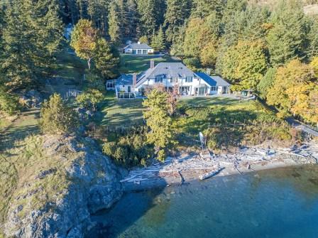 West Sound Estate Aerial