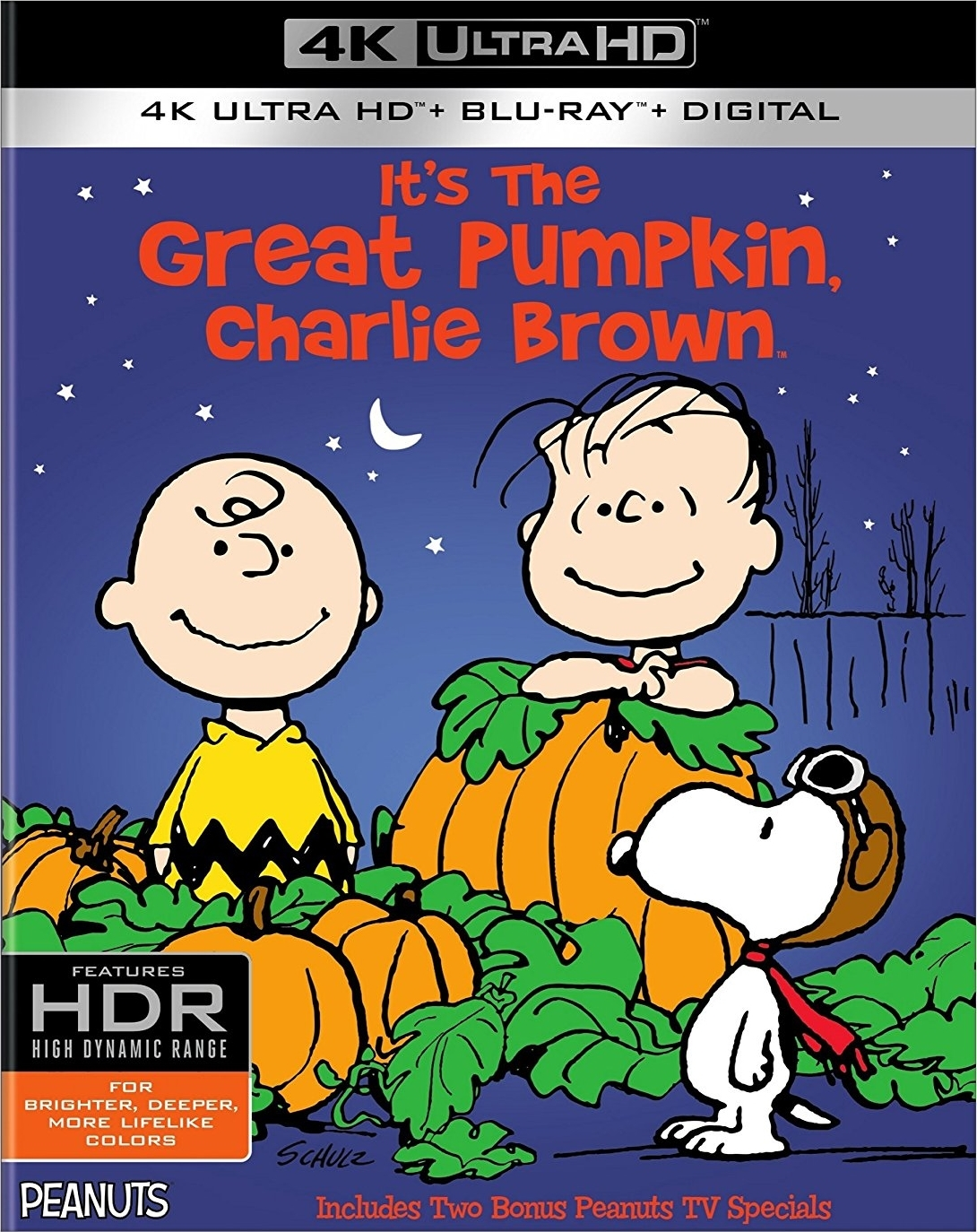 It S The Great Pumpkin Charlie Brown 4k Blu Ray Edition