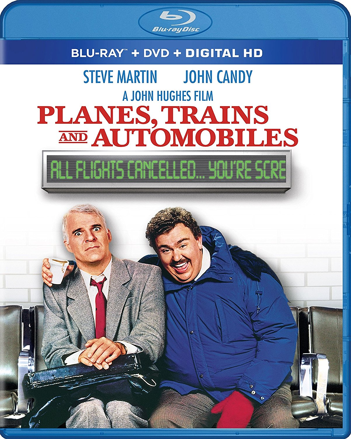 Planes Trains And Automobiles Blu Ray Dvd Combo Edition