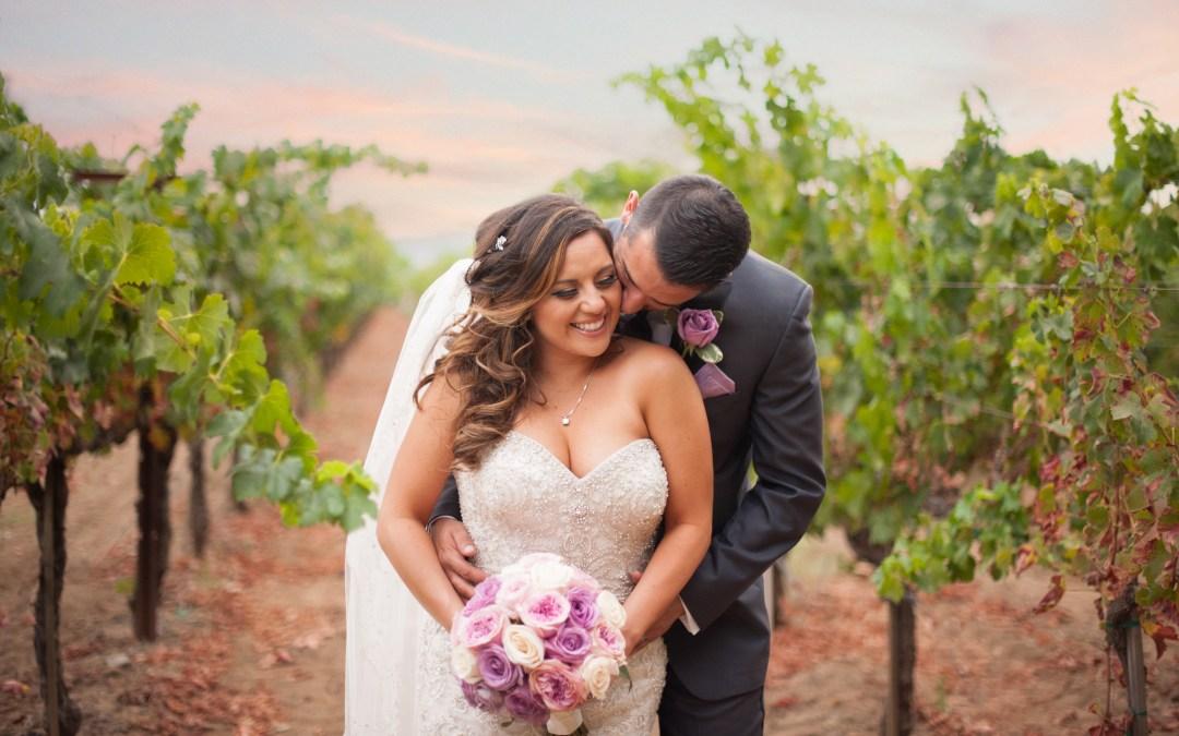 Lisa & Matt ~ Napa Winery Wedding