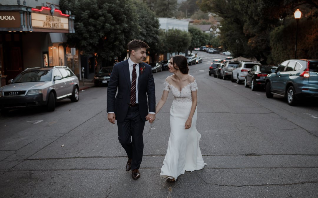 Sarah & Greg – Mill Valley Outdoor Art Club Wedding