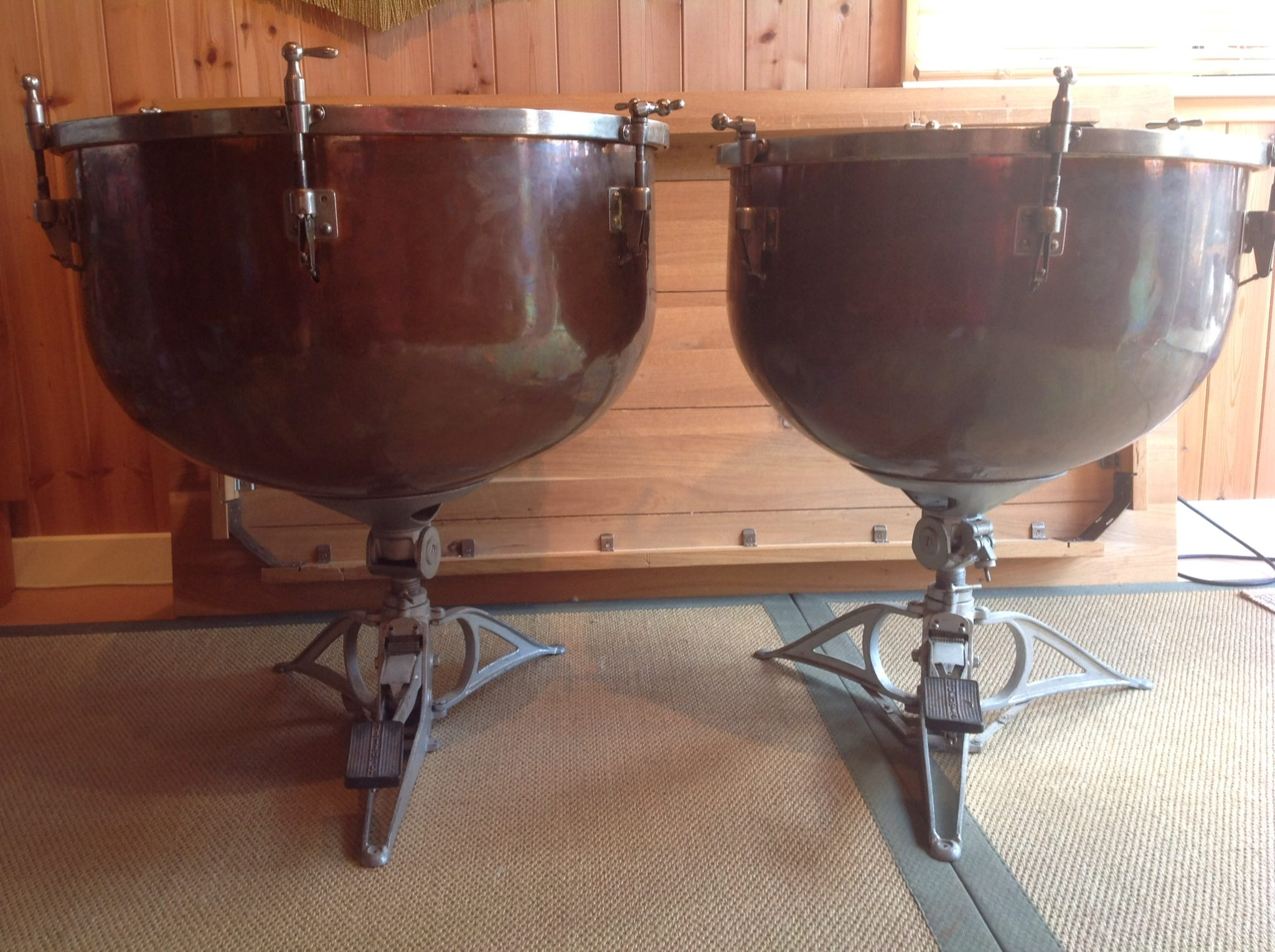 vintage timpani for sale orchestral percussion. Black Bedroom Furniture Sets. Home Design Ideas