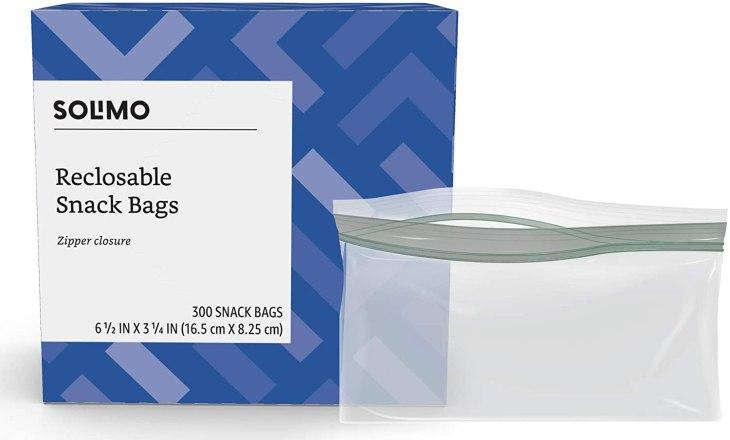 6.5x3.25 zip top bags