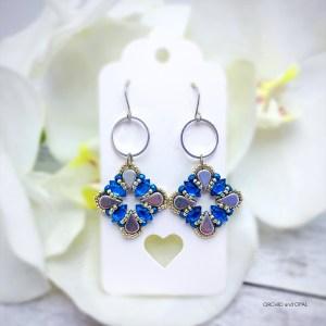 Aegean Breeze Earrings blue