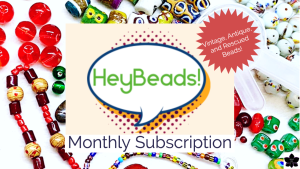 hey beads monthly vintage diy jewelry subscription