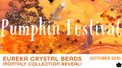 pumpkin festival Eureka Crystal Beads