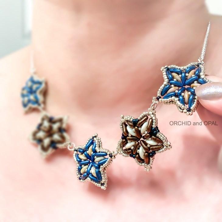 Sea Star Quadralentil Necklace