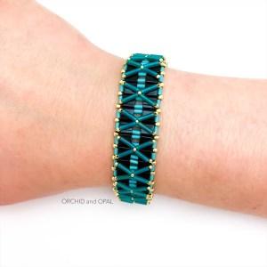 Nexus Bracelet Turquoise Black