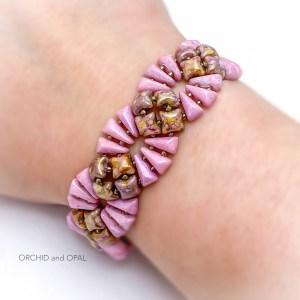 deco bracelet pink