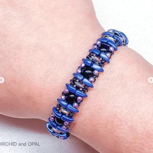 verdant vine bracelet purple
