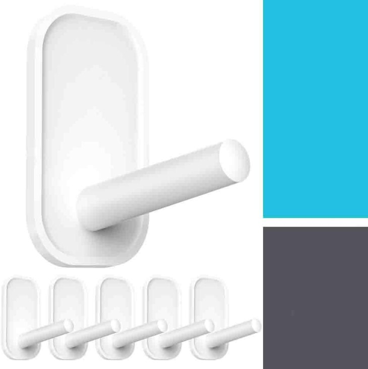 adhesive heavy duty wall hooks