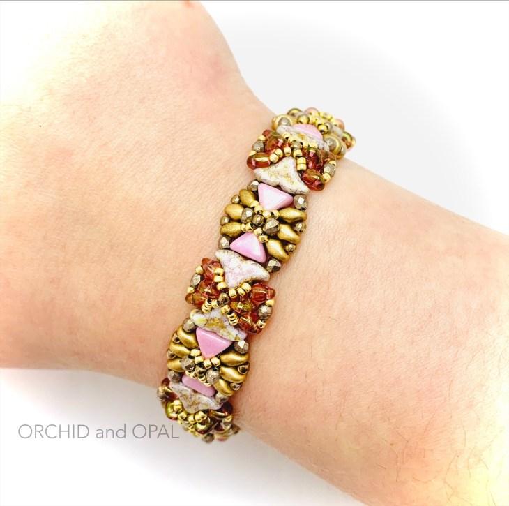 poolside bracelet pink