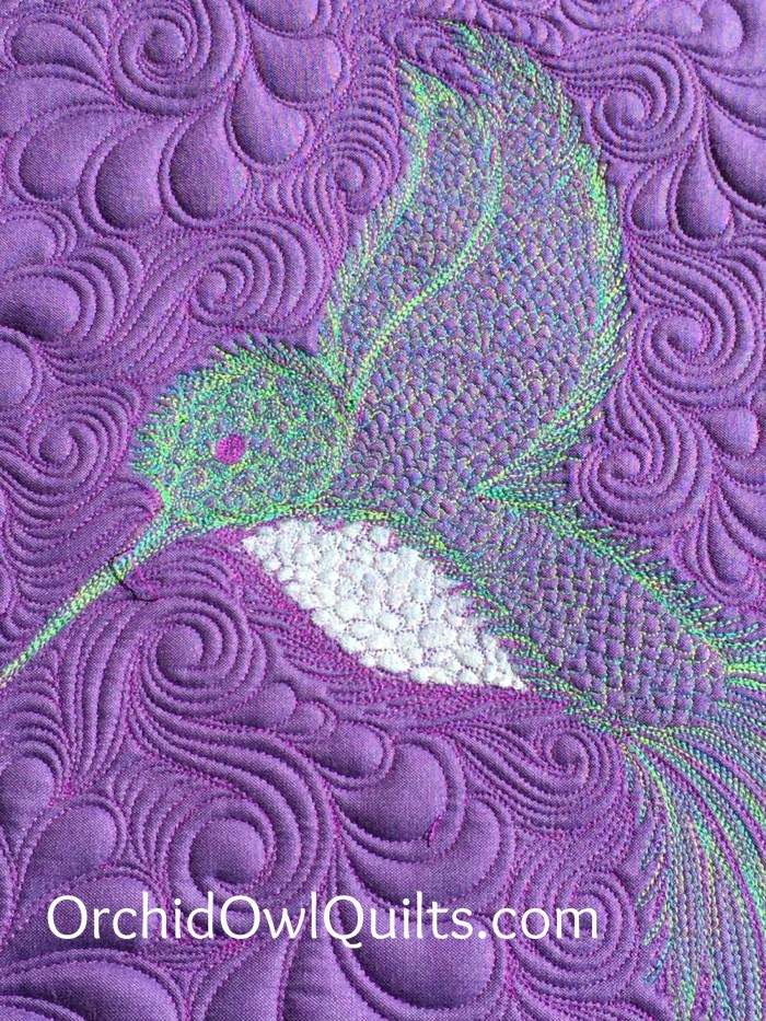 Hummingbird Mini Quilt