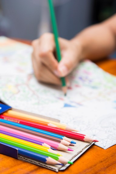 Adult Coloring Book Designed to Inspire Those in Recovery