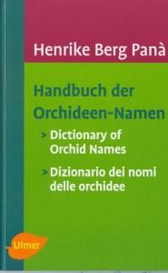 Handbuch der Orchideen-Namen