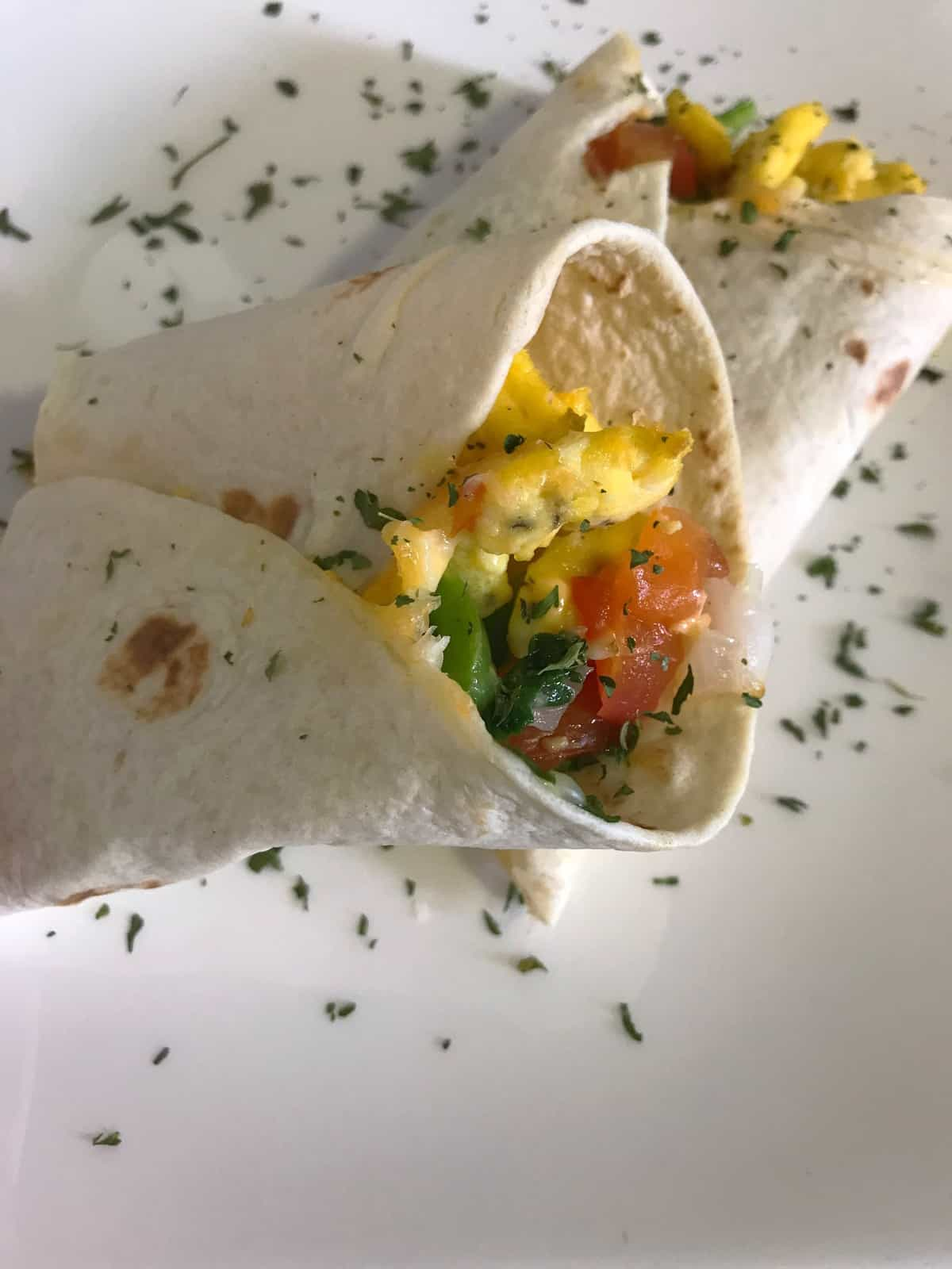 Delightful Breakfast Burrito