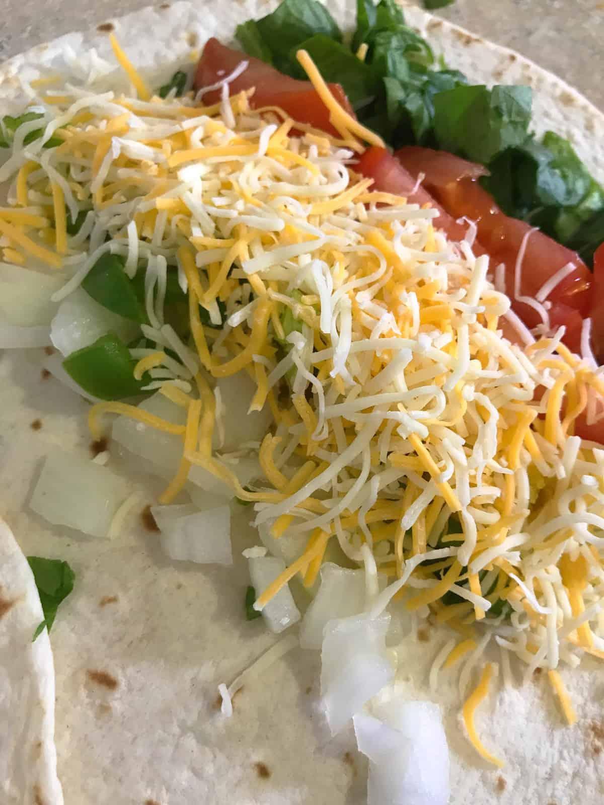 Delightful Breakfast Burrito