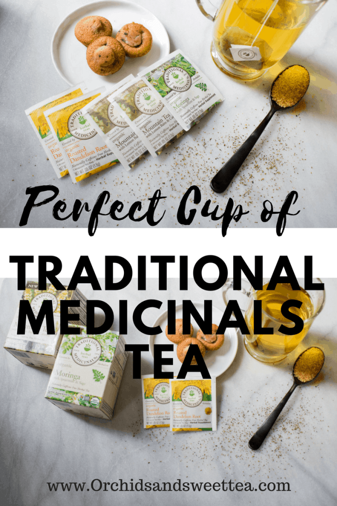 Perfect Cup of Traditional Medicinals Herbal Tea