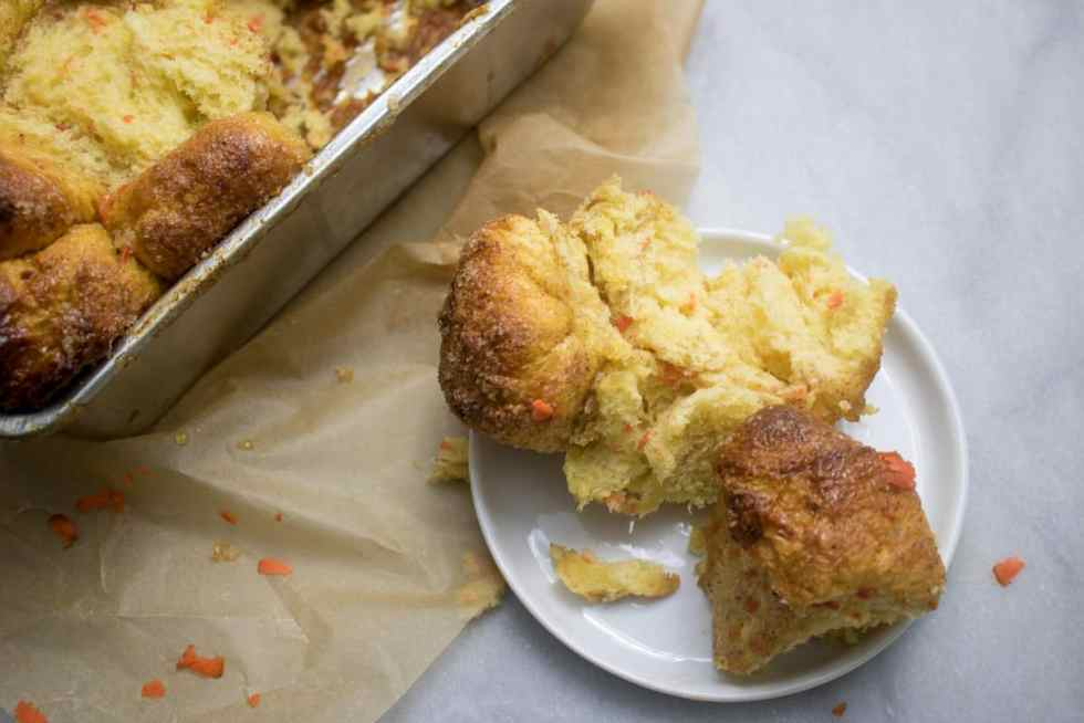 Vegan Maple Carrot Monkey Bread
