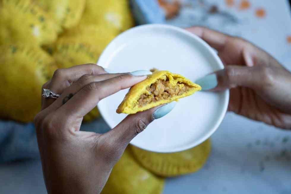 Spicy Jamaican Mini Beef Patties