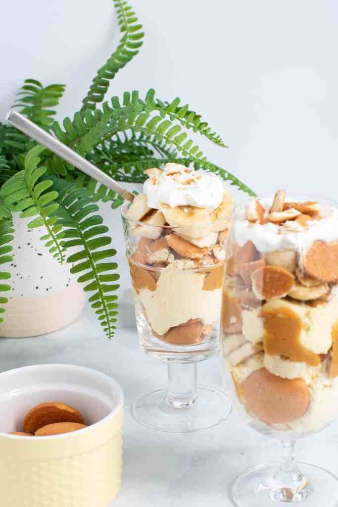 Delicious Peanut Butter Banana Pudding