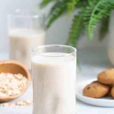 Ultra Creamy Homemade Oat Milk
