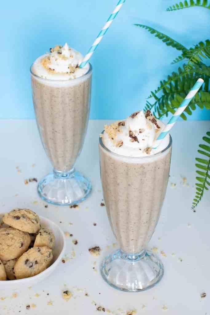 Dairy-Free Chocolate Chip Cookie Milkshake