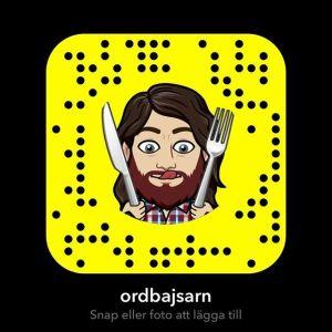 Följ mig på snapchat