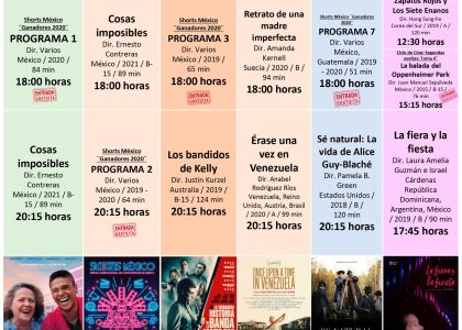 OFRECE CINETECA MEXIQUENSE INTERESANTES  FILMES