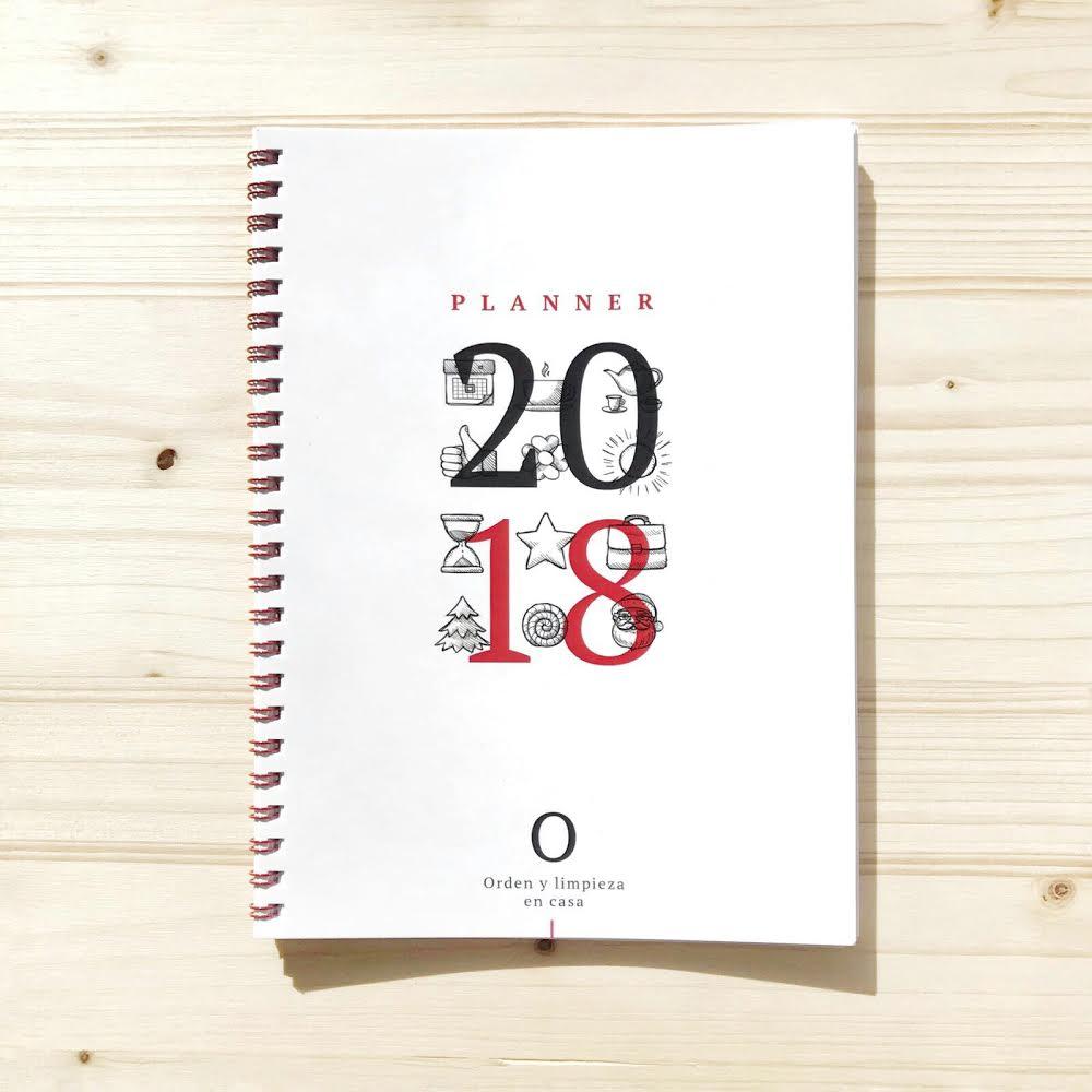 Planner 2018 de orden y limpieza en casa orden y - Orden y limpieza en casa ...