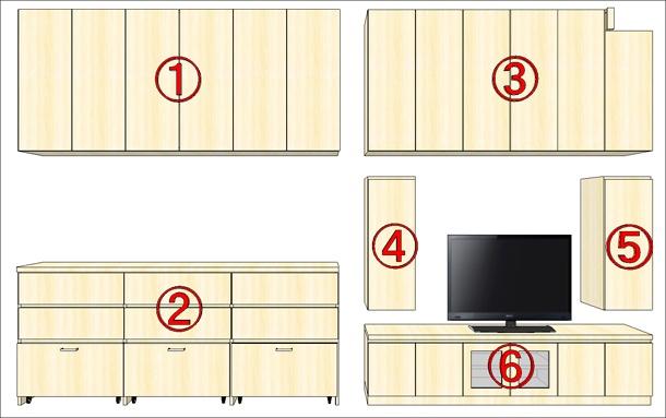 オーダー家具の詳細
