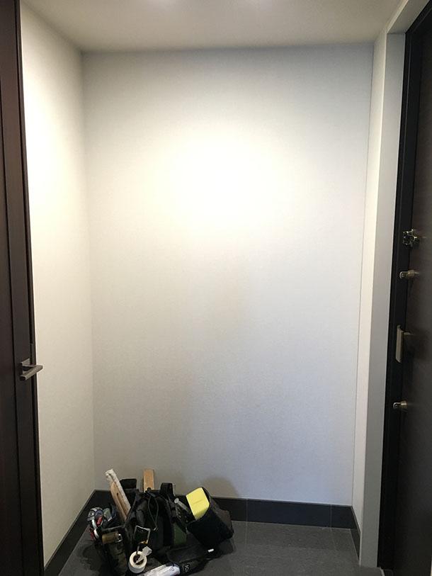 玄関リフォーム 下駄箱