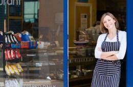 Gastronomie-Gründer mit Restaurant