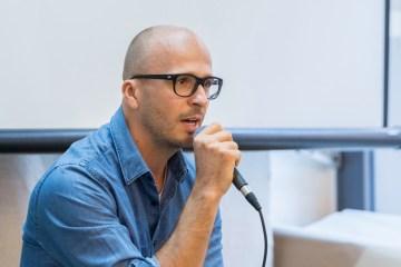 Björn Welter auf dem Gastro-Gründertag