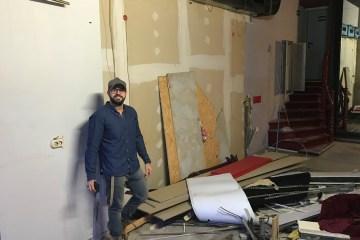 Der Gastro-Gründer Hussein besucht seine Immobilie in Berlin Mitte