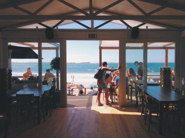 Architecture Restaurant Bleu