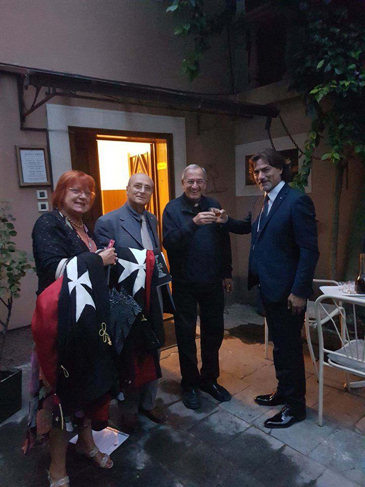 Il Gran Priore d'Italia S.E. Alberto Tumminelli in visita al Gran Priorato di Croazia ad Abbazia