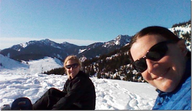Snowshoeing Kendall peak lakes trail