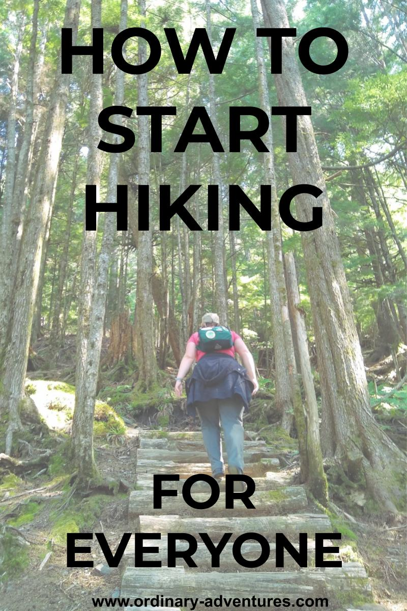 how to start hiking for beginners