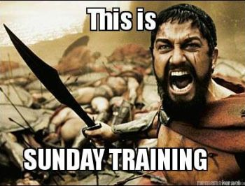 Sunday Training