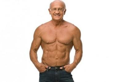 Old bodybuilder