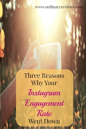 3 reasons why your instagram engagement rate went down