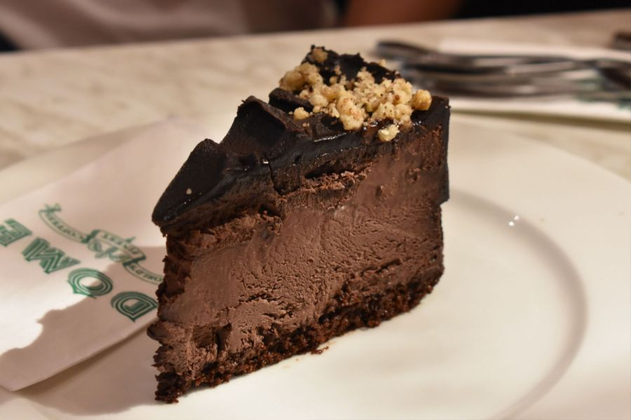 dome cafe johor premium outlet chocolate cake