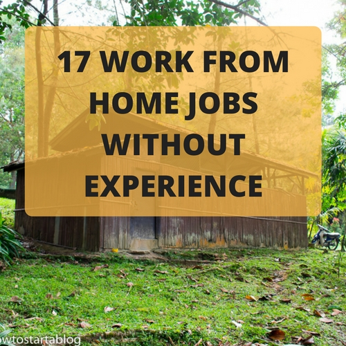 Work From Home Jobs Without Experience